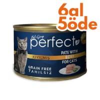 Perfect Beef Pate Kıyılmış Biftekli Tahılsız Kedi Konservesi 80 Gr-6 Al 5 Öde